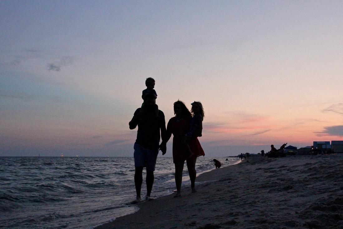 Orange Beach family beach portraits by Paschen's Photography