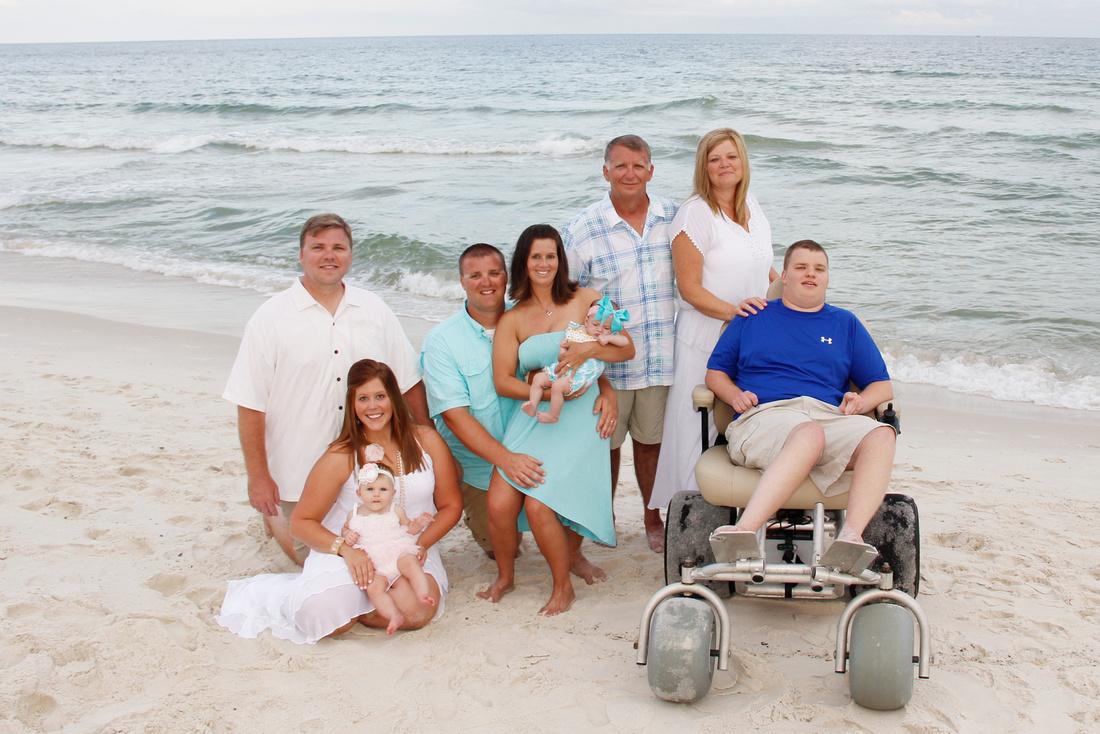 Orange Beach Family Reunion Beach Portraits by Paschen's Photography