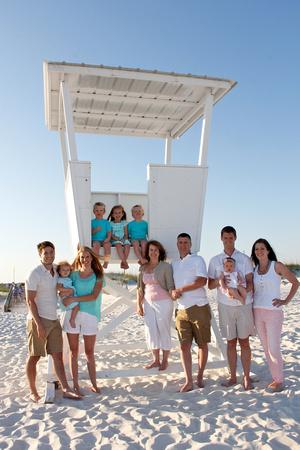 family beach portraits