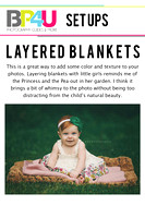 6 - layered blankets