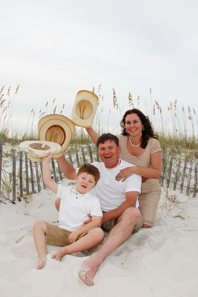 Orange Beach family beach portraits by Paschen's Photography
